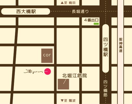 花アンジェ・店舗アクセス