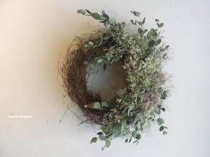 鳥の巣リース☆